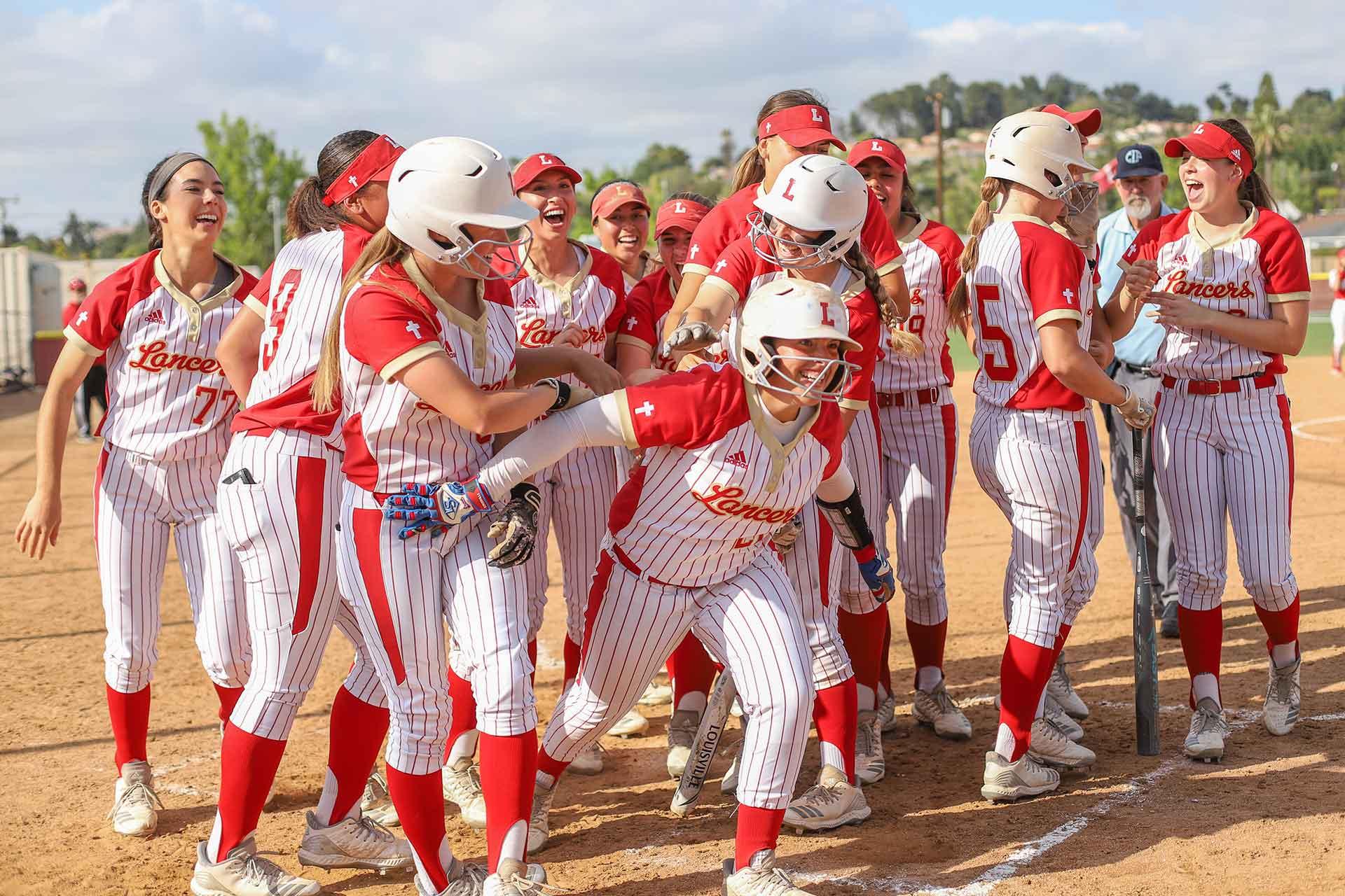 orange-lutheran-girls-baseball-team